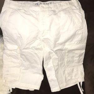Men's White Old Navy Shorts